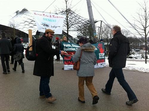 Siemens geht Nachfragen zu Menschenrechten aus dem Weg