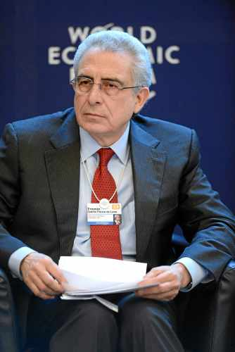Ernesto Zedillo Ponce de Leon. Hier beim Weltwirtschaftsforum in Davos (2013) / World Economic Forum 2013, wikipedia