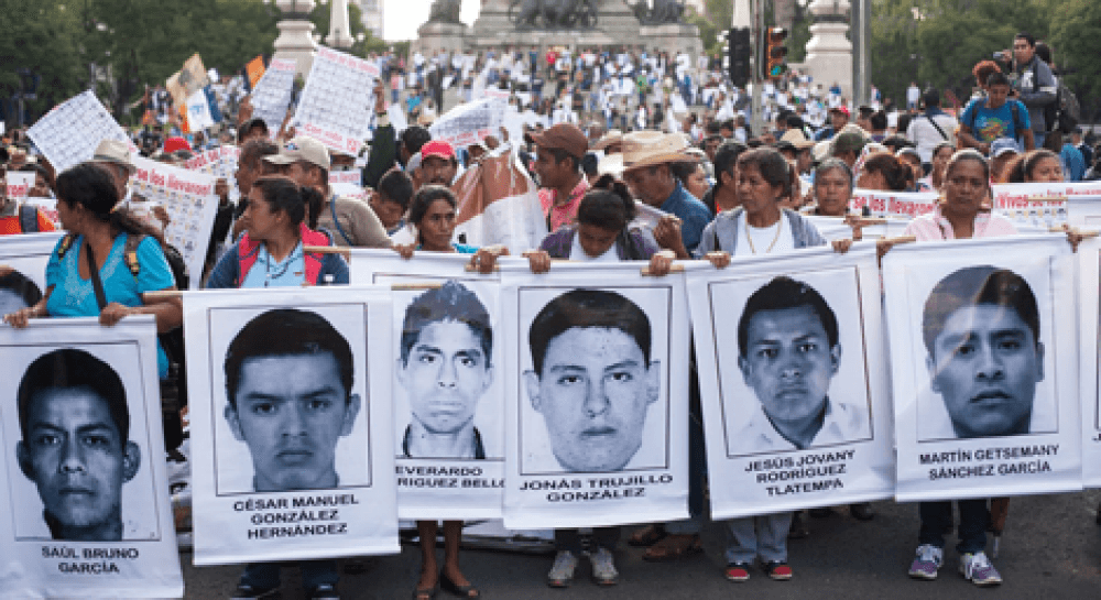 mexiko ayotzinapa. Foto: Alai