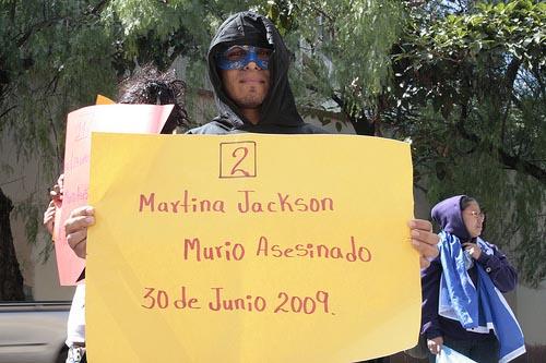 Demo von LGBTI in Honduras - LGBTI-Aktivist*innen sind laut Frontlinedefenders besonders gefährdet in ihrem Kampf für Menschenrechte / Foto: hondurasblog flickr